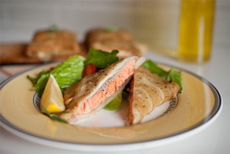 Cedar Planked Potato-Crusted Salmon Recipe