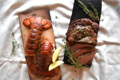 cherry-plank-steak-lobster