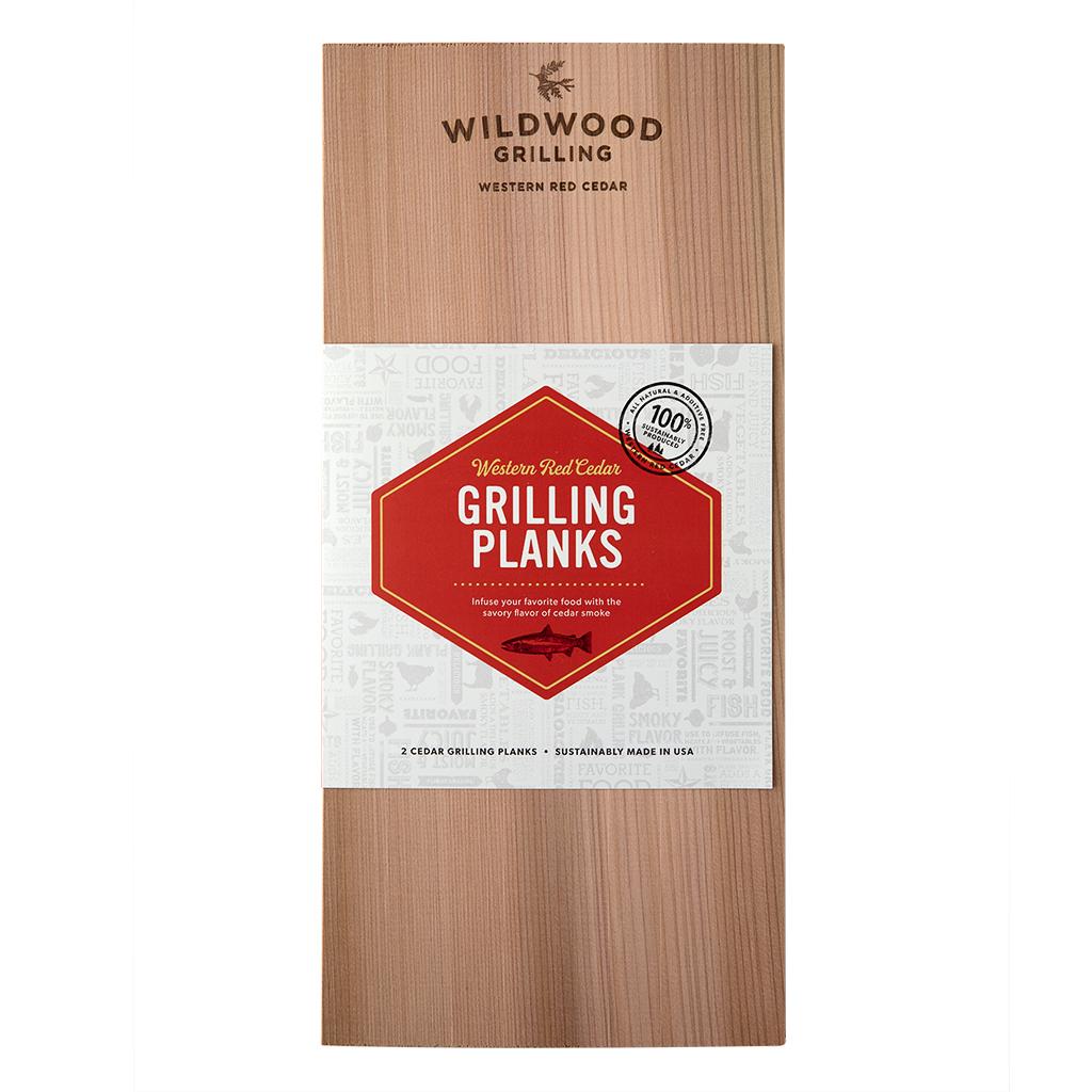 "7x15"" XL Cedar Grilling Planks Wildwood Grilling"