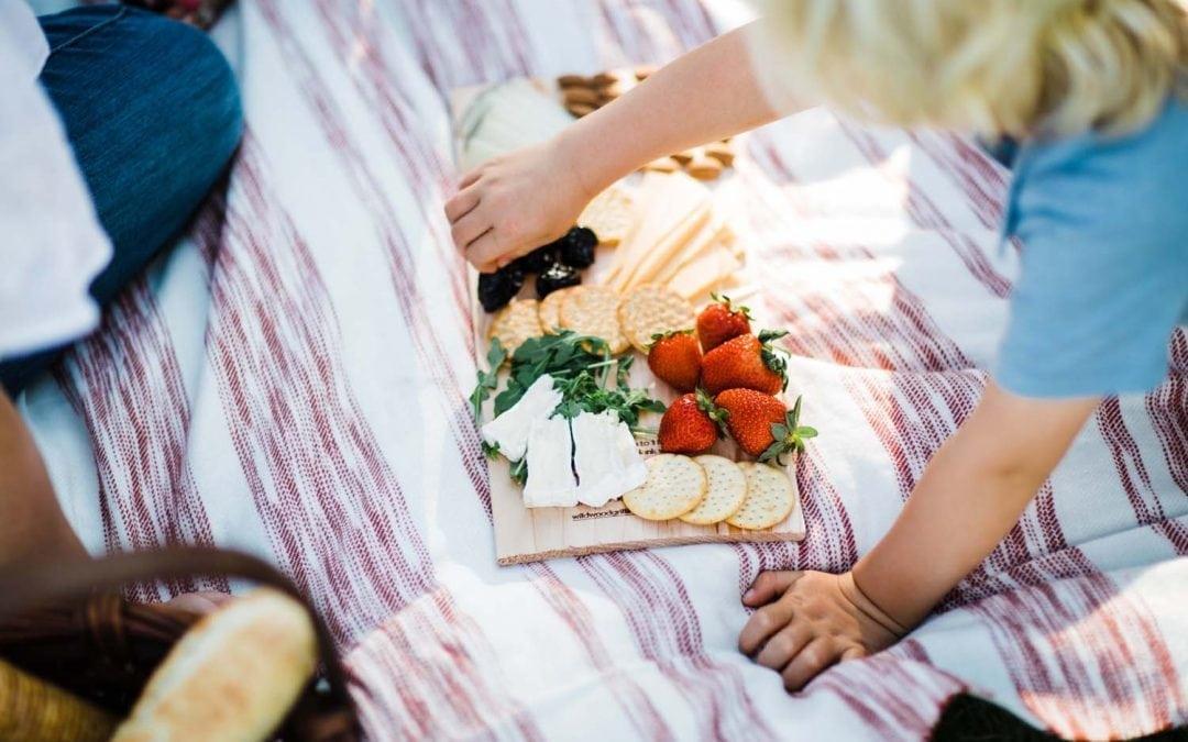 Picnic Platter on Cedar Plank