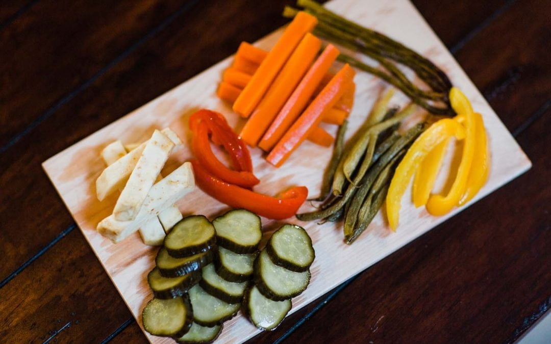 Cherry Smoked Quick Pickled Vegetables