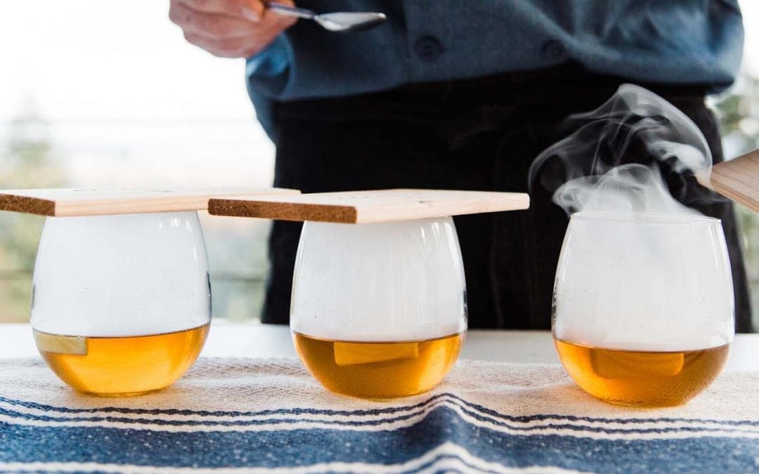 Maple Smoked Hot Buttered Bourbon Recipe
