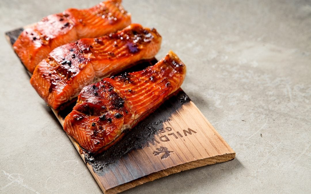 Cook Salmon on a Cedar Plank in the Oven