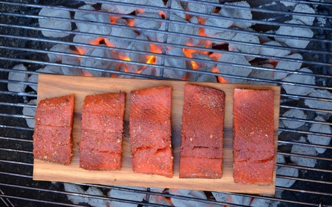 How to Grill Skinless Salmon on a Cedar Plank