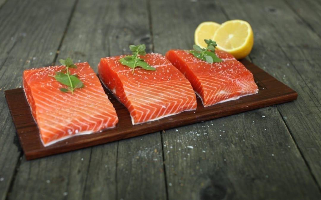 Grilling Sockeye Salmon on a Cedar Plank