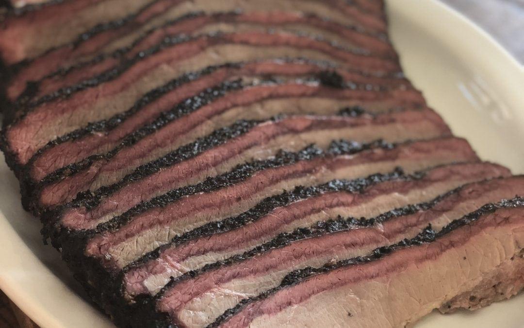 Hickory and Cherry Smoked Brisket Recipe