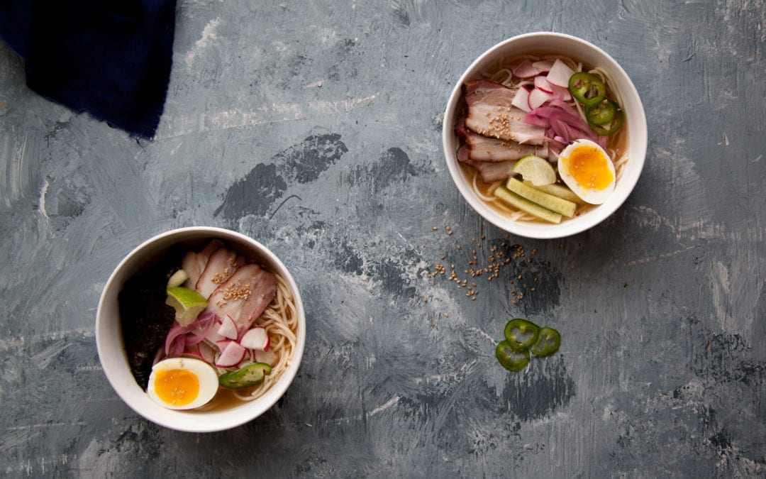 Cured and Smoked Pork Belly Ramen