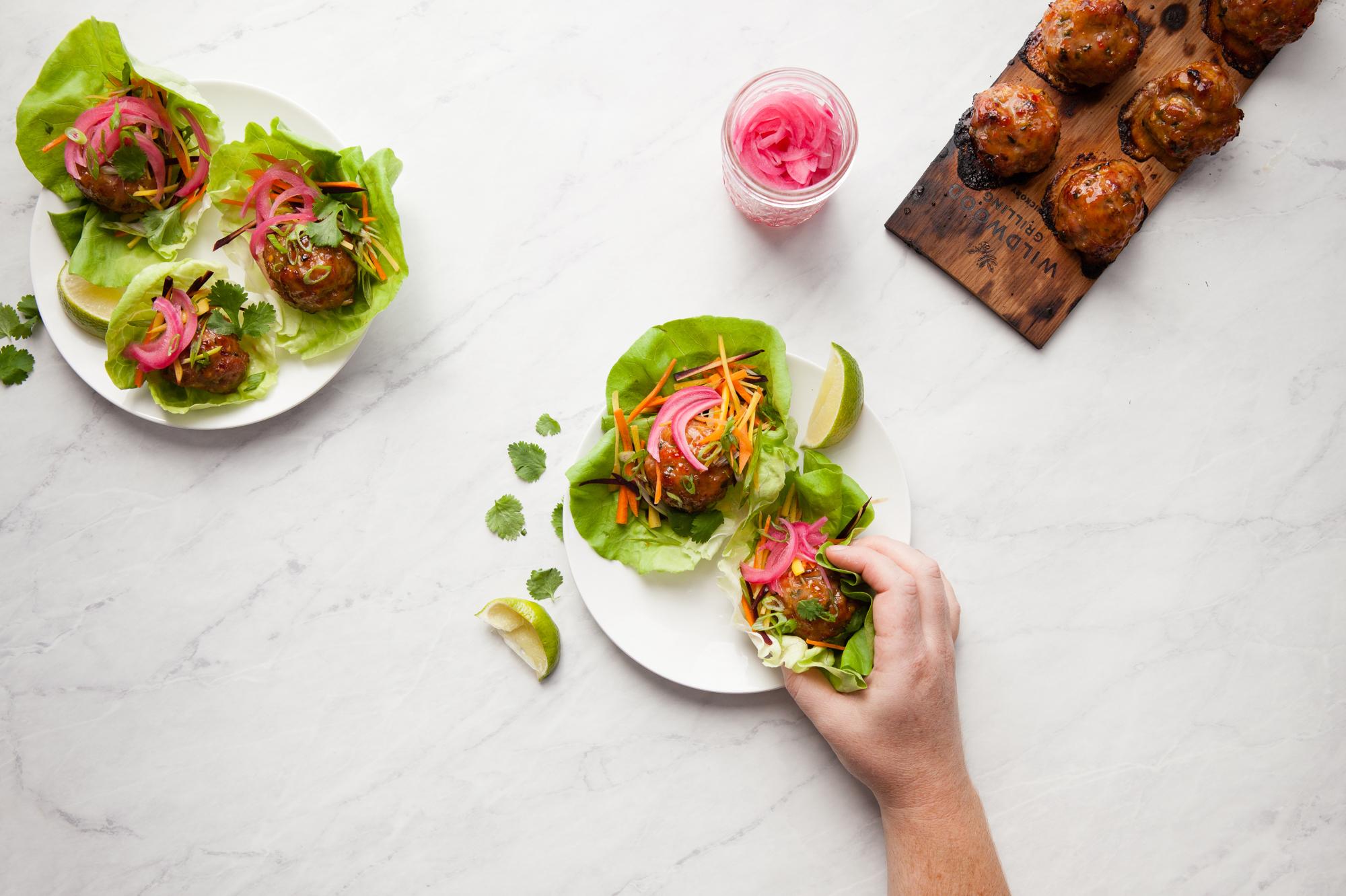 Grilling Dinner Idea: Thai Lettuce Cup