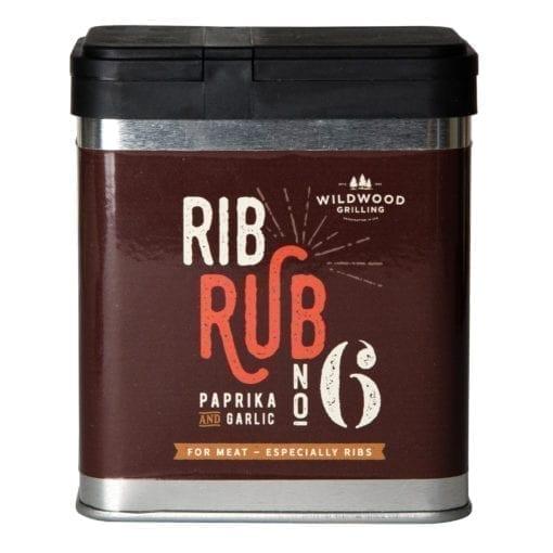 Rib Rub Number 6