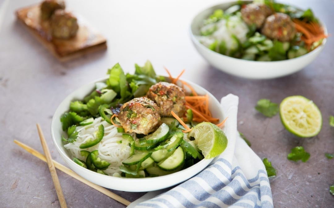 Lemongrass Pork Vermicelli Bowl