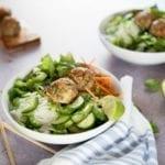 Lemongrass Pork Vermicelli Bowl