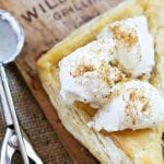 Grilled Apple Turnover