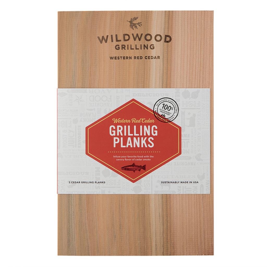 Small Cedar Grilling Planks (2-Pack) - 1-2 Servings per Plank