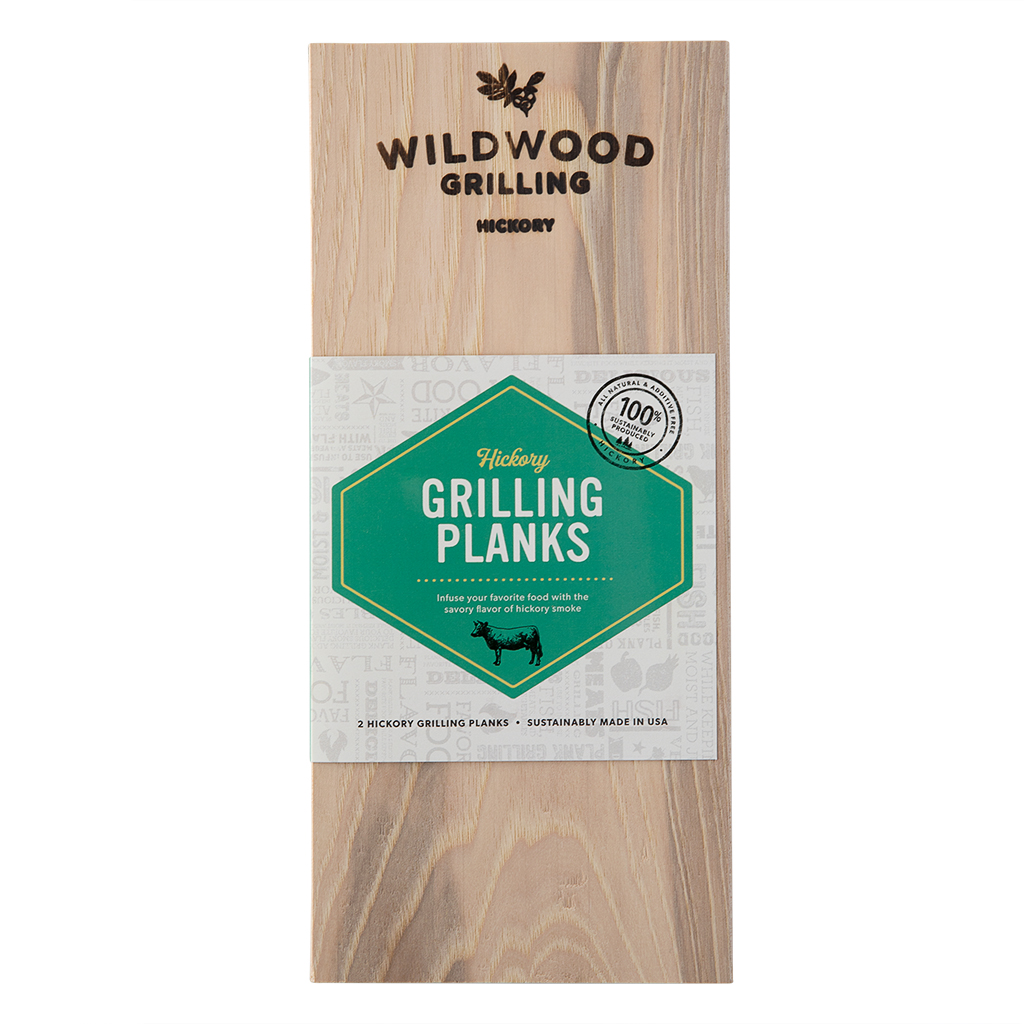 Hickory Grilling Planks (2-Pack)