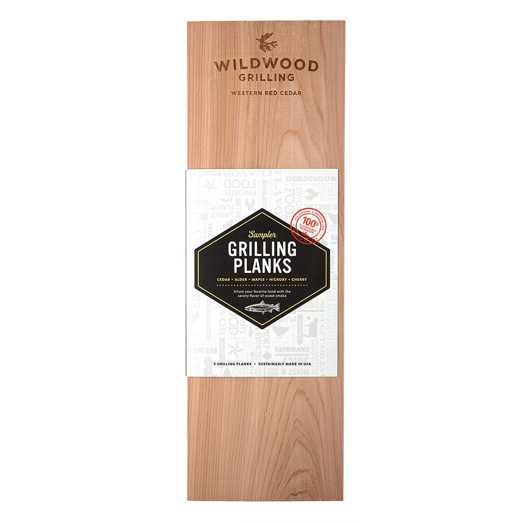 Grilling Plank Sampler: 5 Pack (Large)