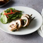 Maple Wrapped Chicken Roulade