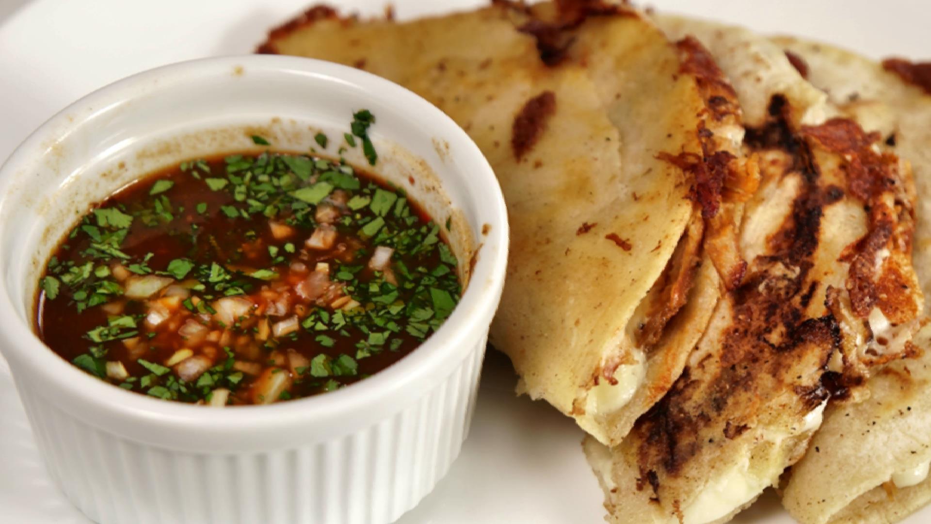 Chicken Birria Tacos