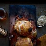 Cherry Planked Honey Mustard Chicken