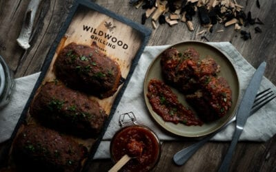 Planked Venison Meatloaf with Smoked Tomato Jam