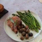 Planked Pork Chop